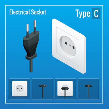 power-plug-socket-type-C